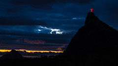 Cloudy Sunset (Pablo.Barros) Tags: amricadosul brasil mirantedonamarta riodejaneiro southamerica sunset pordosol nublado cloudy christtheredeemer cristoredentor corcovado