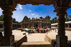 ChennaKesava Temple, Somnathapura - Eastern Side View (bikashdas) Tags: chennakesava somnathpura mandyadistrict chennakesavatemple hoysala hoysalaarchitecture