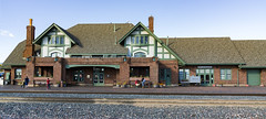 USA Arizona Flagstaff Amtrak Railway Station (charles.duroux) Tags: nyip