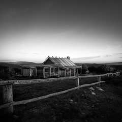 Morning light @Craig's Hut (Colin_Bates) Tags: craigs hut mt stirling victorian alps the man from snowy river morning light
