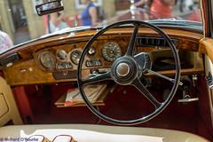 RR dash (Rourkeor) Tags: arundel england unitedkingdom gb car old vintage rollsroyce steeringwheel dashboard automatic dials sony sonyrx1r rx1r fullframe carlzeiss zeiss prime sonnar t 35mm