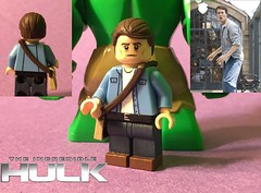 """Finished Bruce Banner from 2008's """"The Incredible Hulk"""" (Wavy Films) Tags: incredible banner bruce custom lego hulk"""
