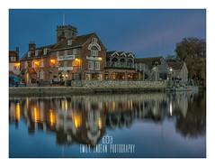 The Old Granary (Emily_Endean_Photography) Tags: pub reflections dusk night nikon longexposure dorset wareham river