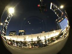 granroof with fisheye conversion lens (HAMACHI!) Tags: tokyo 2016 japan granroof tokyostation street road wideconversionlens seneo iphone iphone6s
