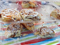 cinnamon rolls (Just Back) Tags: crumbs sweet sugar fat cinnamon case baked dessert breakfast columbia sc dough flour butter