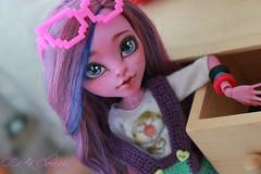 IMG_1850 (Cleo6666) Tags: monsterhigh monster high kjersti trollson mattel ooak repaint doll custom