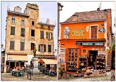 Architecture Corse (arno18) Tags: architecture corse france corte maison couleurs epicerie gnral gaffori jeanpierregaffori