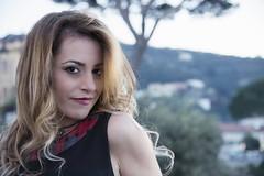 Carmen di Lauro (elparison) Tags: blonde vicoequense portrait ritratto girl woman young red yellow blue landscape face angelo faccia occhi sguardo