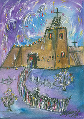 w3073a (DeGrazia Gallery in the Sun) Tags: nationalhistoricdistrict degrazia artist ettore ted galleryinthesun artgallery gallery adobe architecture tucson arizona az catalinas desert missioninthesun mission lafiestadeguadalupe fiesta guadalupe patron saint mexico laposada procession yaqui deerdancers mariachis music folkloricodancers