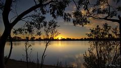 Lake Lascelles (Tdyy) Tags: nikon d7200 tokina 1116 ultra wide angle uga uwa lake sunset color tree nature outdoor warm grand australia victoria south hemisphere frame