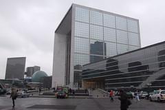 La Grande Arche, 13.02.2012. (Dāvis Kļaviņš) Tags: france puteaux panoramio