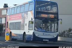 15585 (northwest85) Tags: stagecoach worthing gx59 jys 15585 scania alexander dennis adl enviro 400 700 brighton road bus gx59jys