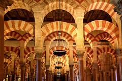 Mezquita Arches (hapulcu) Tags: andalucia andalusia cordoba espagne espanha espaa spagna spain cathedral interior mezquita moorish