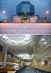 National Library, Belarus (Iris Speed Reading) Tags: world latinamerica southamerica beautiful us amazing cool asia europe top library libraries united most states coolest inspiring speedreading