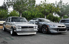Father & Son. (Jan L. | JLPhotography.) Tags: auto summer cars coffee car skyline nikon nissan exotic oldtimer 1970 jl rare supercar sportscar gtr carspotting d90 2013 carscoffeeirvine