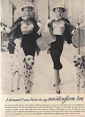 Maidenform bra - i was a twin (edwardsandmillers) Tags: classic beautiful fashion vintage ads advertising photography glamour women bra lingerie retro nostalgia commercial era 1960s 1970s brassiere newyorktimesmagazine sexsells girdle bygone tightskirt sexinadvertising baremidriff braads underwearforwomen braadverts lingerieforwomen lingeriehistory