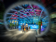 Warp speed (iamseanism) Tags: singapore warp orchard fisheye 8mm ion lumixg