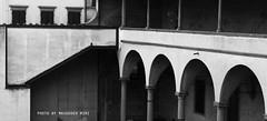 chiostro di Sant'Apollonia (Convento di Sant'Apollonia), Firenze (Masoudeh Miri) Tags: architecture facade canon blackwhite traditional centro center finestra firenze 100 toscana bianconero chiostro cortile architectura toscany florance tradizionale facciata porticato 2013 chiostrodisantapollonia chiostrodellabadessa conventodisantapollonia