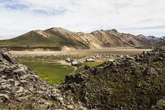 (Gerard Puigmal) Tags: sky nature clouds landscape iceland islandia landmannalaugar