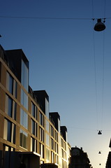 Lausanne - Perspective (AndreP11) Tags: perspective lausanne rue immeuble lampadaire