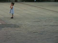 Little child and her ice (Lukinator) Tags: world people baby girl outdoors stand und big essen leute play sweet side small mini menschen kind eat human fujifilm cheerful left eis playful sss mdchen kleiner draussen spielen welt verspielt seite grosse munter ihr frhlich kleines stehen ss linken lukinator