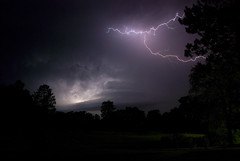Electrical Storm (amythyst_lake) Tags: sky storm weather night clouds dark heat lightning electrical thunder