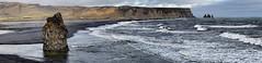 Reynisfjara beach and Reynisdrangar (Florent Chevalier) Tags: island iceland islandia sland islande izland islanda islndia ijsland islanti    izlanda  islandija