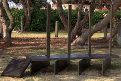 Weighty matters - Ron Robertson _Swann OAM NSW (Val in Sydney) Tags: sea sculpture by sydney australia ron nsw swann robertson australie matters oam weighty sxsbondi 2013