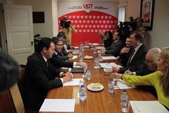 Reunião com a UGT