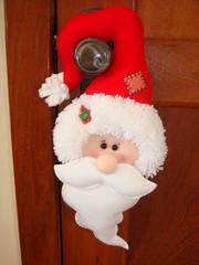 PAPAI NOEL PARA MAANETA (sonia parreiras) Tags: natal noel porta maaneta