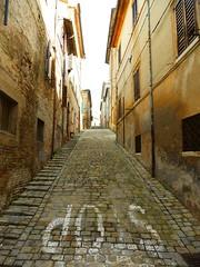P1010192 (gzammarchi) Tags: strada italia natura via pietra paesaggio ancona corinaldo passeggiata paese itinerario