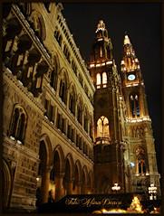 Rathaus - Vienna (Aly D.) Tags: vienna wien christmas winter austria österreich viena rathaus primarie craciun iarna