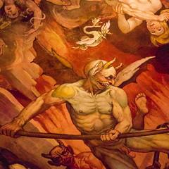 Hell (campra) Tags: santa italy del last painting florence mural italia maria hell dome devil firenze duomo fiore judgement fresco brunelleschi vasari cuppola zuccari cresti