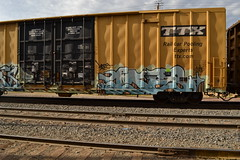Ides (huntingtherare) Tags: train graffiti boxcar freight rollingstock tbox ttx
