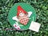 Duende de Natal (Artes de uma Larissa) Tags: natal feitoàmão feliznatal feltro duende imã portarecados enfeitedenatal