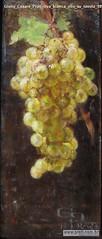 Giulio Cesare Prati Uva bianca olio su tavola 1897