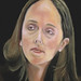 Oil painting of Michelle O'Donoghue by C. Michael Gibson, M.D.