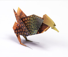 Origami création - Didier Boursin - Moineau