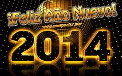 Imagen Feliz Año Nuevo 2014 para enviar a mis amigos (Compartir.me) Tags: de para imagenes año frases nuevo ocasiones