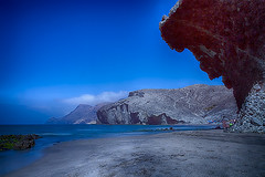 PLAYA DE MONSUL 01 (www.ignaciolinares.com) Tags: blue beach azul mar spain cabo rocks playa andalucia cielo desierto almeria cabodegata rocas monsul playademonsul playasdealmeria desiertocabodegata playasdelcabodegata