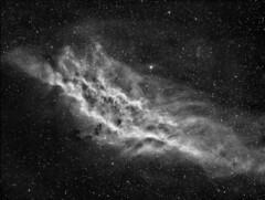 California Nebula H-alpha (Andysea1) Tags: Astrometrydotnet:status=solved Astrometrydotnet:id=nova211445