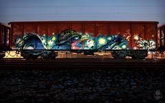 Born_to_Burn (BREakONE) Tags: black night train born hungary break steel burn rooster freight breakone