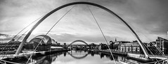Millennium Bridge. (CWhatPhotos) Tags: pictures above camera bridge sky white fish bl