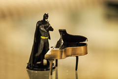 Batman is Unimpressed #10 (tianafeng) Tags: fun toys funny humour angry superhero batman mad macrophotography canon60d canon100mm28l