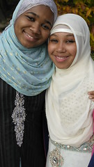 Shaziah and Tayyibah - Eid 2013 (Nabeelah Mumin) Tags: old girls muslim eid