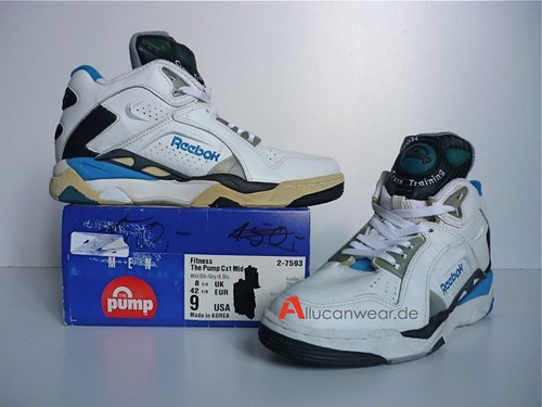1b218b5108ccd2 UNWORN VINTAGE REEBOK THE PUMP CROSS TRAINING CXT MID BB SPORT SHOES