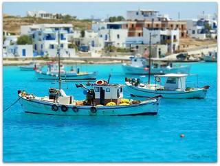 Greece like blue.