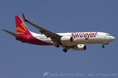 VT-SGZ B737-800 SpiceJet (JaffaPix +4 million views-thanks...) Tags: airplane flying aircraft aviation flight aeroplane airline boeing airliner 737 b737 737800 spicejet blr bangaloreairport b738 vobl b738w jaffapix vtsgz davejefferys