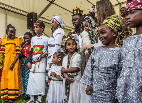 BEST DRESSED AT AFRICA DAY 2014 IN DUBLIN
