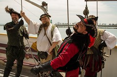 """""""Hawkyns, look over here at me!"""" (was my command) (Pahz) Tags: chicago pirates windy lakemichigan greatlakes navypier tallship bristolrenaissancefaire chicagoillinois tallshipwindy bristolpirates"""